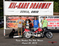 Summit Racing Series. Last Points Race August 23, 2014